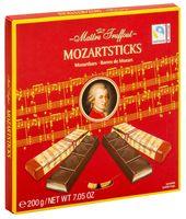 """Шоколад темный """"Mozartsticks. С начинкой из марципана"""" (200 г)"""
