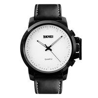 Часы наручные (чёрно-белые; арт. 1208)