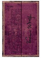 """Записная книжка Paperblanks """"Вирджиния Вульф. Своя комната"""" в линейку (формат: 180*230 мм, ультра)"""