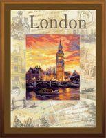 """Вышивка крестом """"Города мира. Лондон"""""""