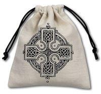 """Мешочек для хранения кубиков и карт """"Кельтский Крест"""""""