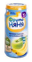 """Детское пюре ФрутоНяня """"Яблоко, банан со сливками"""" (250 г)"""
