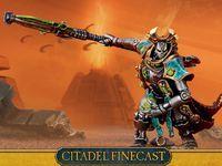 "Миниатюра ""Warhammer 40.000. Finecast: Necrons Overlord"" (49-60)"