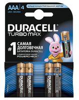 Батарейка DURACELL TURBO AAA LR03 Alkaline (4 штуки)