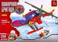 """Конструктор """"Пожарная бригада. Спасательный вертолет"""" (208 деталей)"""