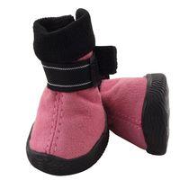 Ботинки (4х4х5,5 см; розовые)