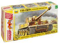 """Сборная модель """"Немецкий танк Т-VI Тигр"""" (масштаб: 1/35; подарочный набор)"""