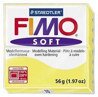 """Глина полимерная """"FIMO Soft"""" (лимонный; 56 г)"""