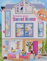 "Альбом с наклейками ""Creative Studio. Create your Sweet Home"""
