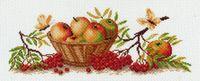 """Канва с нанесенным рисунком """"Осенние плоды"""""""