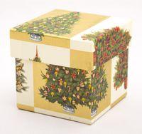 "Подарочная коробка ""Christmas Trees"" (7,5x7,5x7,5 см; арт. CRT087R/75)"