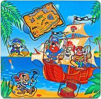 """Рамка-вкладыш """"Пираты с картой"""""""