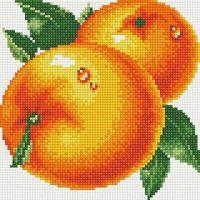 """Алмазная вышивка-мозаика """"Апельсины"""" (250х270 мм)"""