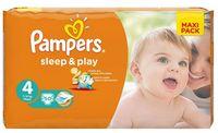"""Подгузники """"Pampers Sleep&Play Chamomile Maxi"""" (7-14 кг, 50 шт, арт. 0001010557)"""