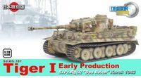 """Немецкий танк """"Sd.Kfz.181 Tiger I"""" (масштаб: 1/72)"""