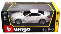 "Модель машины ""Bburago. Mercedes-Benz SL 65 AMG Hard Top"" (масштаб: 1/24)"