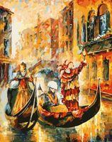 "Картина по номерам ""Венецианская гондола"" (300х400 мм)"