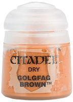 """Краска акриловая """"Citadel Dry"""" (goldfag brown; 12 мл)"""