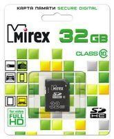 Карта памяти SDHC 32Gb Mirex Class 10