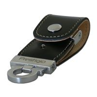 USB Flash Drive 8Gb Prestigio Leather Classic series (Black) (PLDF08PLBKT3A)