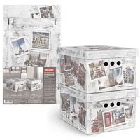 "Набор коробок складных ""Photos"" (2 шт.; 250х330х185 мм)"