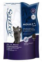 """Корм сухой для домашних кошек """"Adult"""" (2 кг; страус)"""