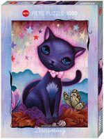 """Пазл """"Чёрный котёнок"""" (1000 элементов)"""