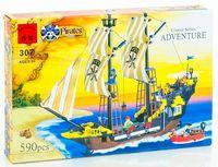 """Конструктор """"Pirates. Пиратский корабль"""" (590 деталей)"""