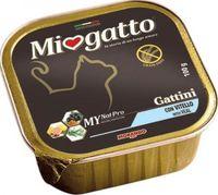 """Консервы для котят """"Miogatto"""" (100 г; телятина)"""