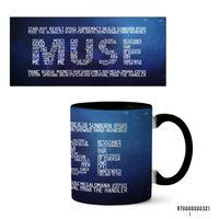 """Кружка """"Muse"""" (арт. 321, черная)"""