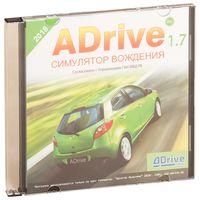 """Диск с учебной программой """"ADrive. Симулятор вождения"""""""
