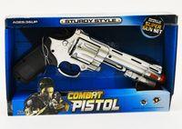 """Пистолет """"Полицейский патруль"""" (со звуковыми и световыми эффектами; арт. 1058067-811-8)"""