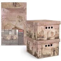 "Набор коробок складных ""Paris"" (2 шт.; 250х330х185 мм)"