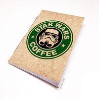 """Блокнот крафт """"Звездные войны. Кофе"""" (А5; арт. 005)"""