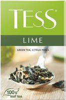 """Чай зеленый листовой """"Tess. Lime"""" (100 г)"""