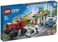"""LEGO City """"Ограбление полицейского монстр-трака"""""""