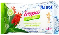 """Влажные салфетки """"Tropic Coctail"""" (15 шт.)"""