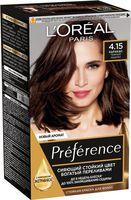 "Краска для волос ""Preference"" (тон: 4.15, Каракас темный каштан)"