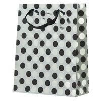 """Пакет бумажный подарочный """"Круги"""" (32х26х10 см; арт. DV-1704B)"""