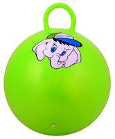 """Мяч-попрыгун """"Слонёнок"""" (45 см; с ручкой; зелёный)"""
