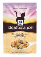 """Пресервы для кошек """"Ideal Balance"""" (85 г; курица и овощи)"""