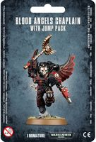 Warhammer 40.000. Blood Angels. Chaplain With Jump Pack (41-17)