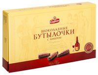 """Набор конфет """"Шоколадные бутылочки с ликером"""" (168 г)"""