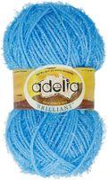 "Пряжа ""Adelia. Brilliant №40"" (50 г; 90 м; ярко-голубой)"
