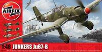 """Бомбардировщик """"Junkers Ju87-B Stukal"""" (масштаб: 1/48)"""