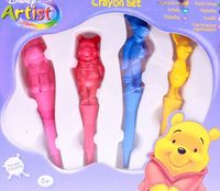 "Набор карандашей цветных восковых ""Winnie the Pooh"" (4 шт.)"