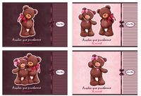 """Альбом для рисования """"Bears Choco & Milk"""" (А4; 16 листов)"""