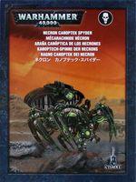 Warhammer 40.000. Necrons. Canoptek Spyder (49-16)