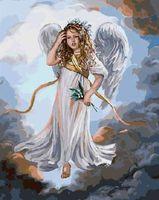 """Картина по номерам """"Ангел в небесах"""" (400х500 мм; арт. PC4050194)"""