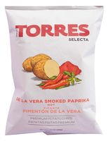 """Чипсы картофельные """"Torres. Со вкусом копчёной паприки"""" (50 г)"""